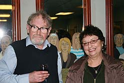 Photo: Alasdair Gray art exhibition, Glasgow.