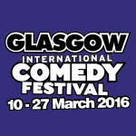 Glasgow International Comedy Festival, Bring your under 2's to The Glad Cafe, Saturday 19 March, 2016.