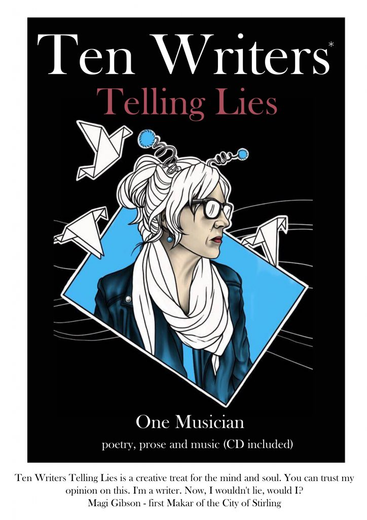 ftont cover ten writers telling lies